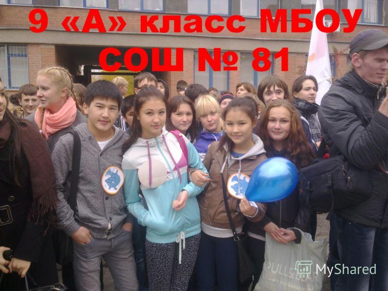 9 «А» класс МБОУ СОШ 81