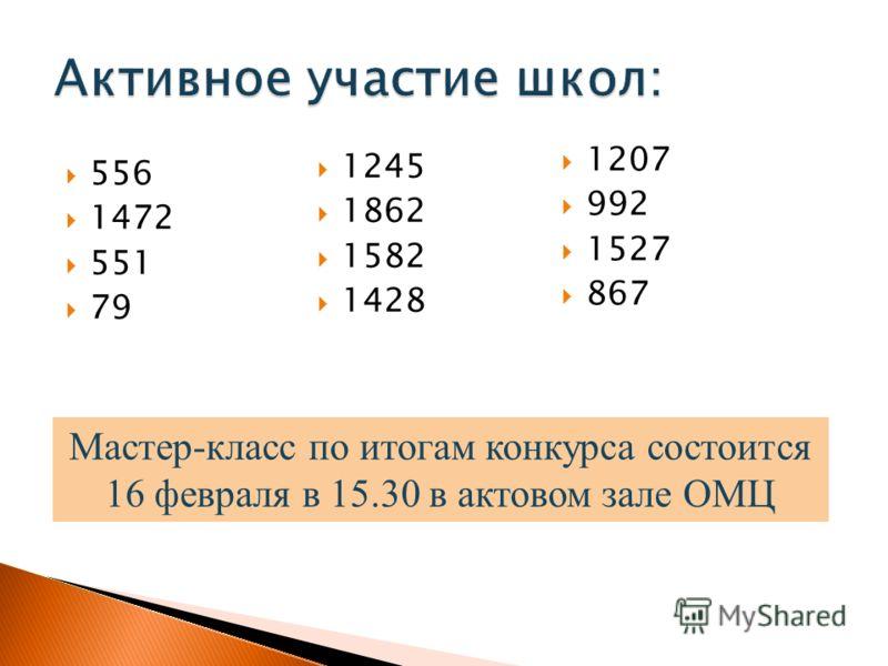 556 1472 551 79 Мастер-класс по итогам конкурса состоится 16 февраля в 15.30 в актовом зале ОМЦ 1245 1862 1582 1428 1207 992 1527 867
