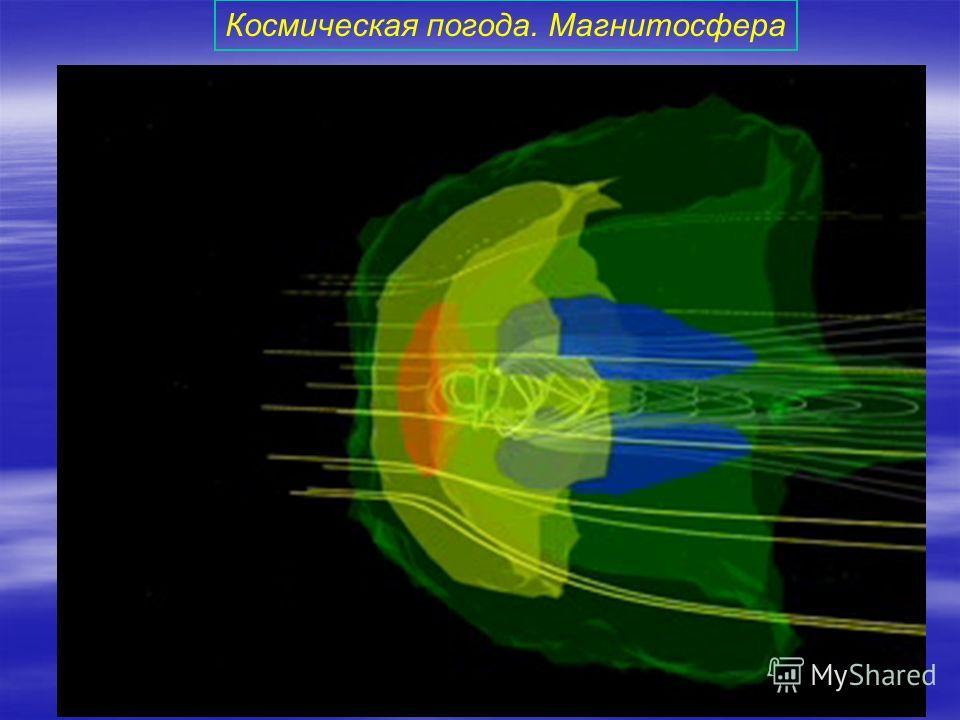Космическая погода. Магнитосфера
