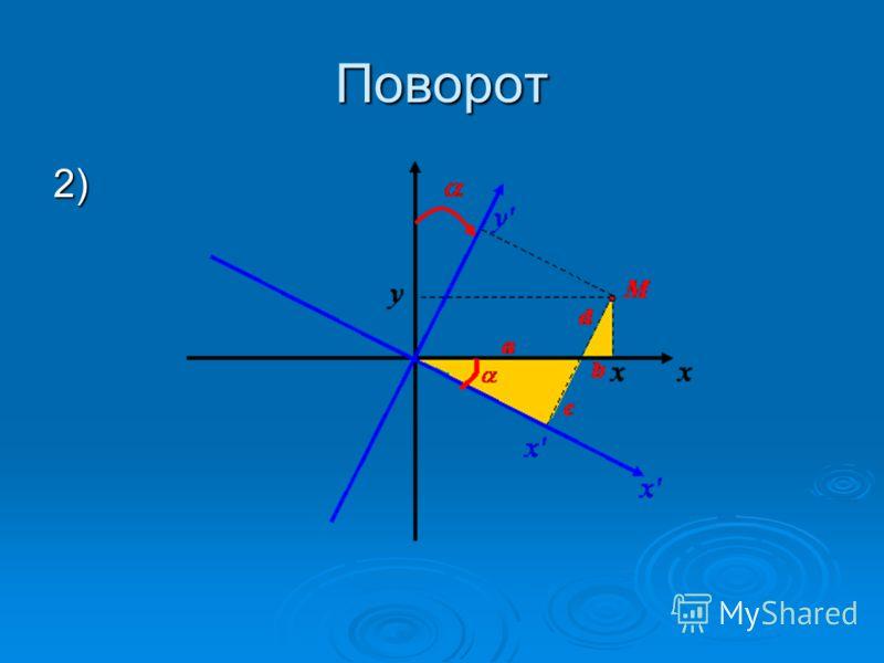 Поворот 2)
