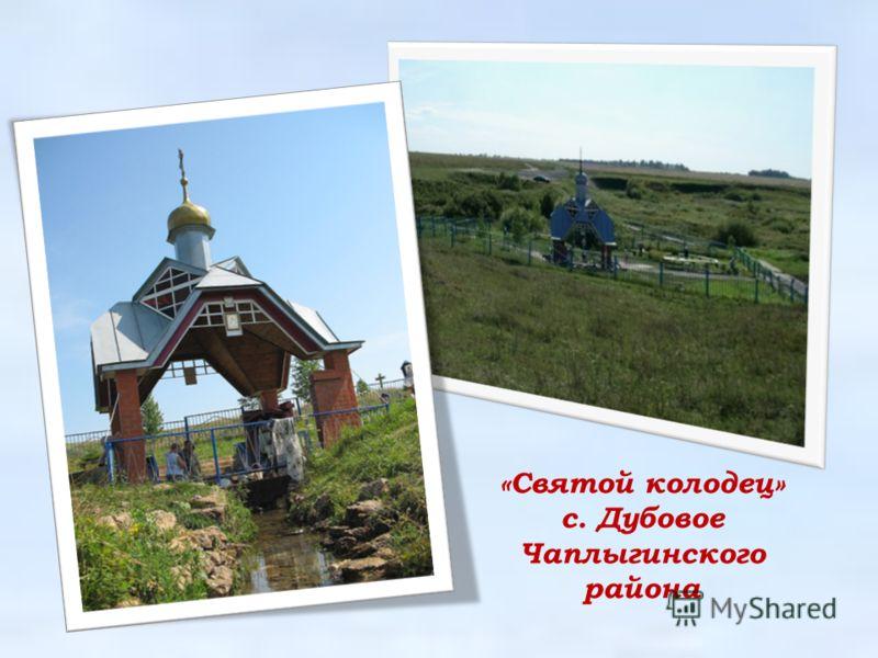 «Святой колодец» с. Дубовое Чаплыгинского района