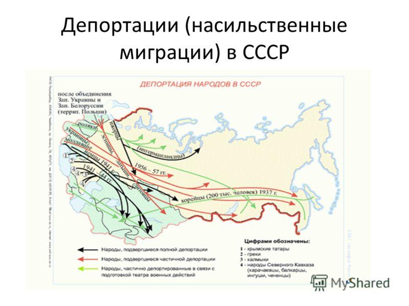 Депортации (насильственные миграции) в СССР