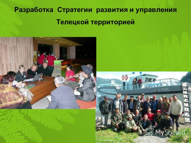 Разработка Стратегии развития и управления Телецкой территорией