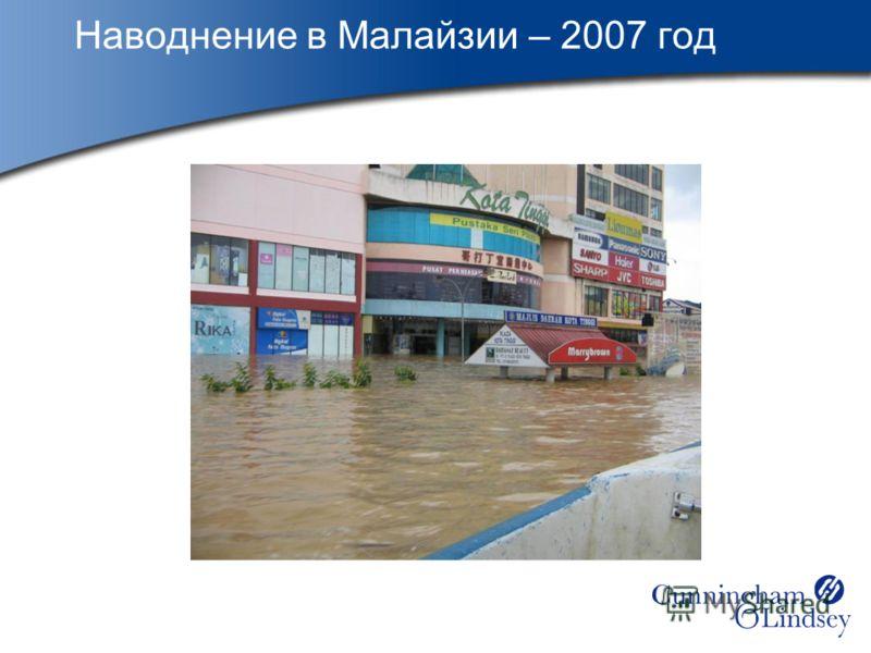 Наводнение в Малайзии – 2007 год