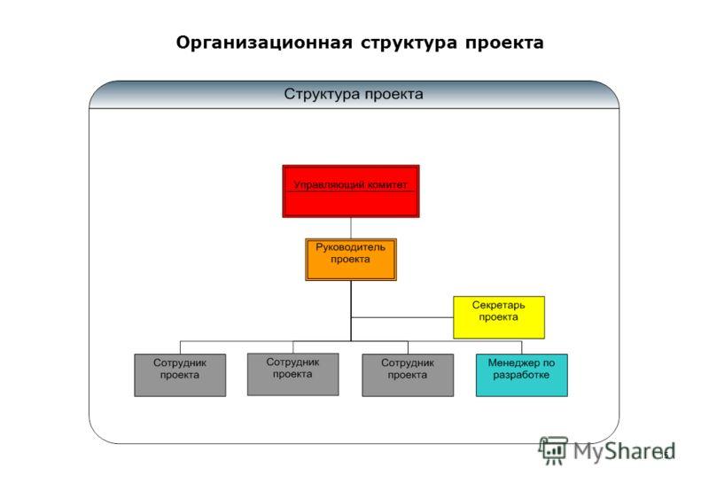 Организационная структура проекта 15