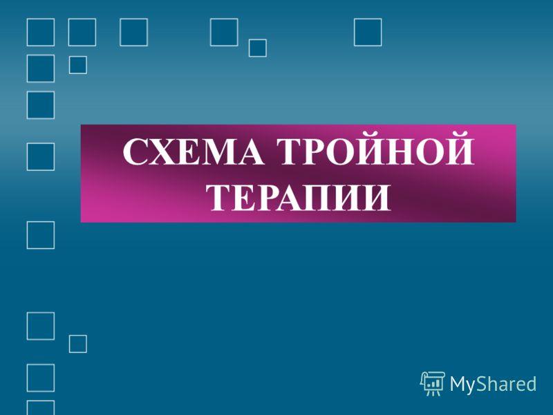 СХЕМА ТРОЙНОЙ ТЕРАПИИ