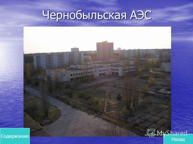 Чернобыльская АЭС Содержание Назад