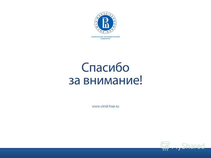 www.cinst.hse.ru