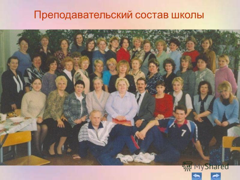 Преподавательский состав школы