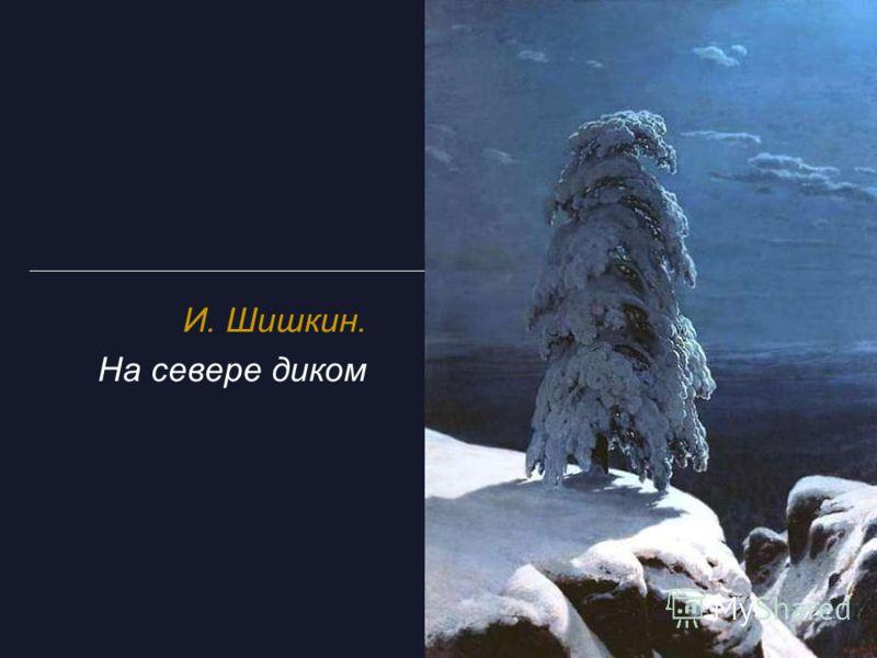 И. Шишкин. На севере диком
