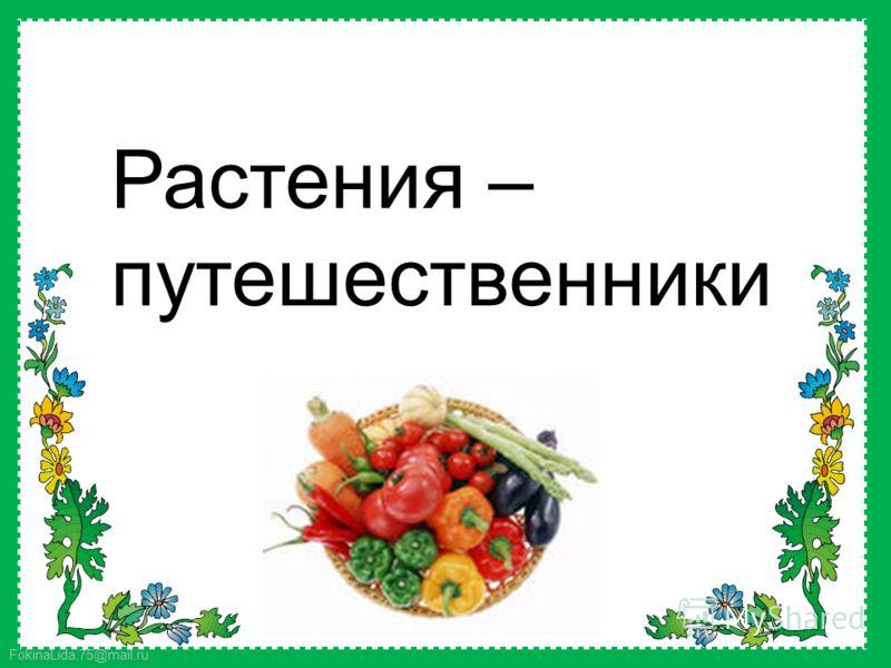 FokinaLida.75@mail.ru Растения – путешественники