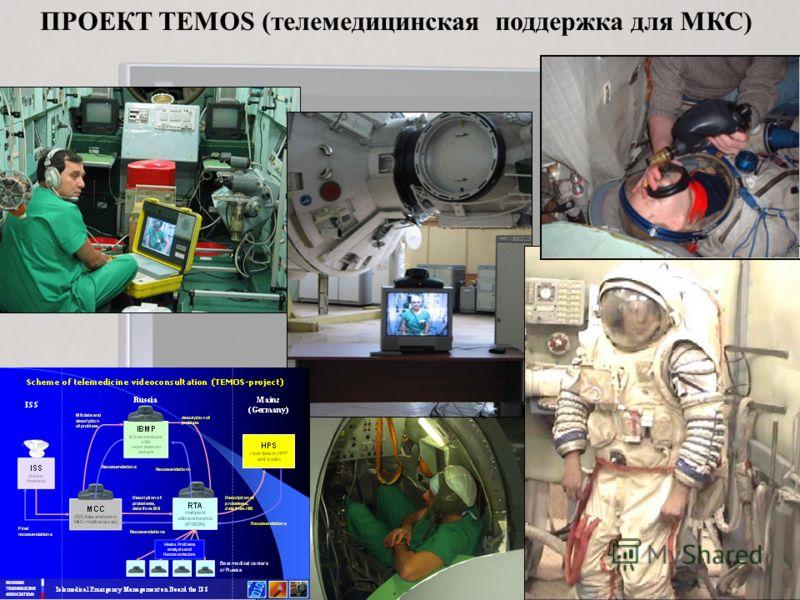 ПРОЕКТ TEMOS (телемедицинская поддержка для МКС) Manequin Special manequin was used to test the…