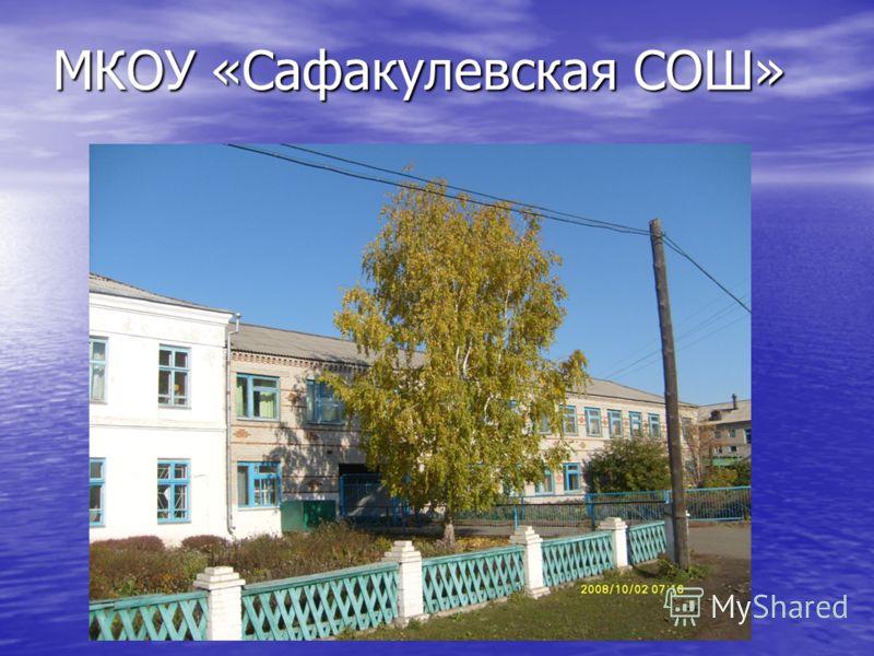 МКОУ «Сафакулевская СОШ»