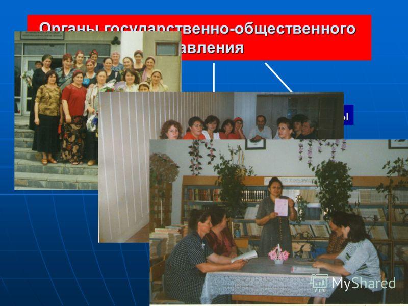 Органы государственно-общественного управления Попечительский совет Совет школы Родительский комитет