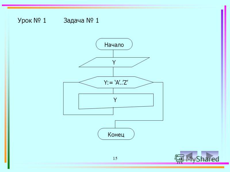 14 Урок 1Задача 1 Вывести на экран английский алфавит, разделяя буквы двумя пробелами.