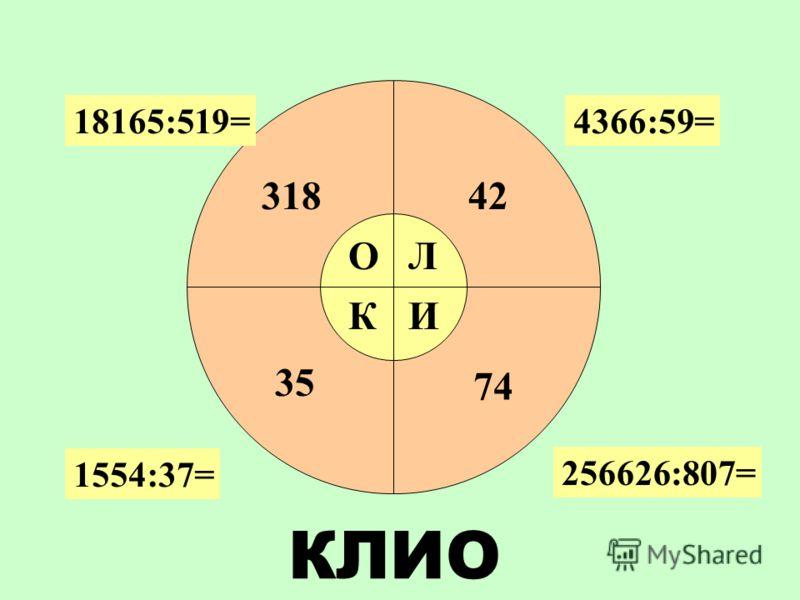 Сделать прикидку Найти первое неполное делимое Определить количество цифр в частном Найти цифры в каждом разряде частного Найти остаток (если он есть) Алгоритм деления многозначных чисел