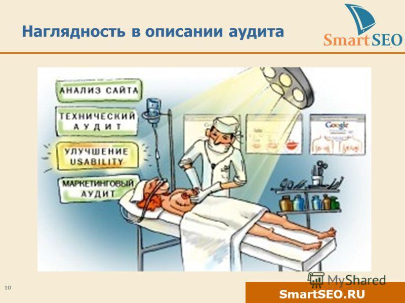SmartSEO.RU Наглядность в описании аудита 10