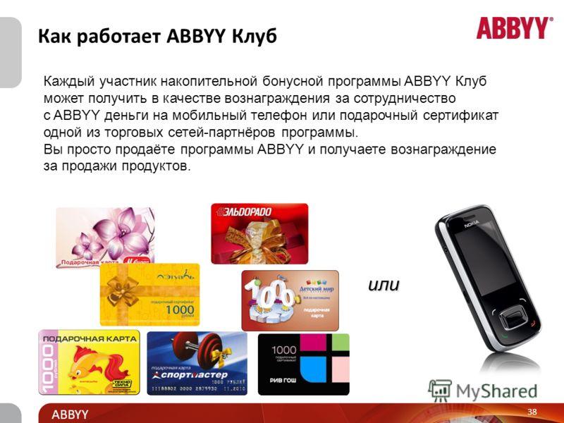 Title and presenter ABBYY Для розничных партнеров ABBYY Клуб www.abbyy-club.ruwww.abbyy-club.ru