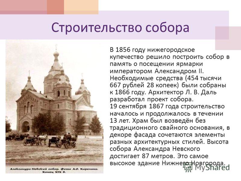 презентация храм александра невского нижний новгород