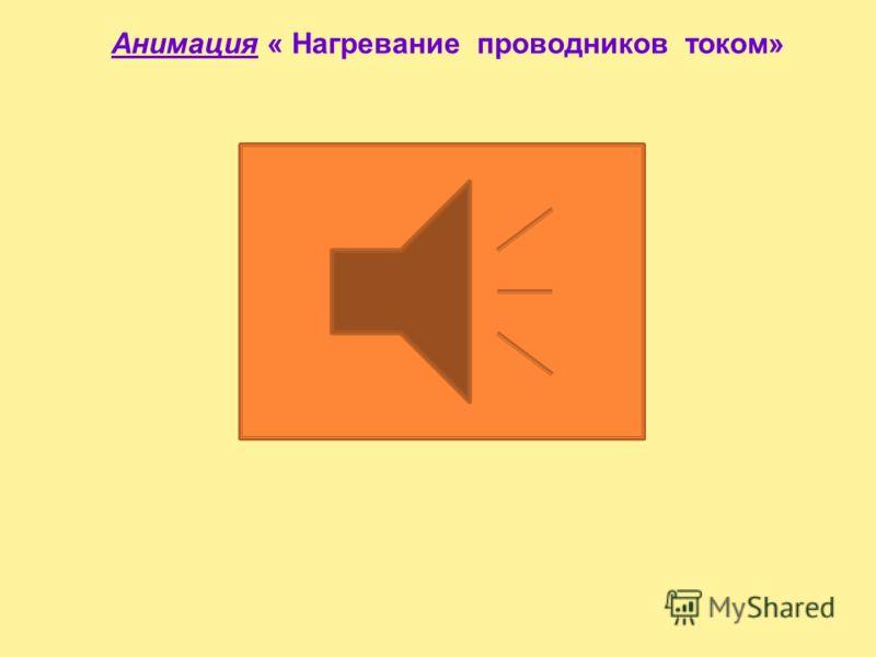 Анимация « Природа электрического сопротивления»