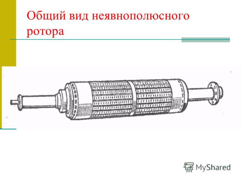 Общий вид неявнополюсного ротора