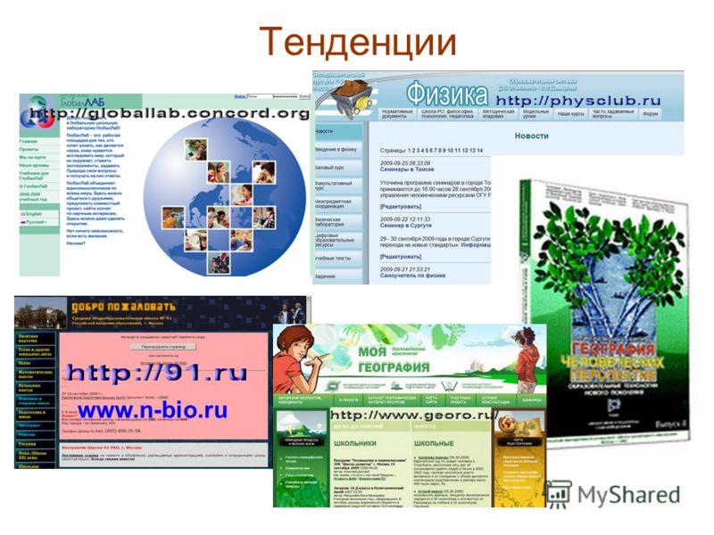 Тенденции www.n-bio.ru