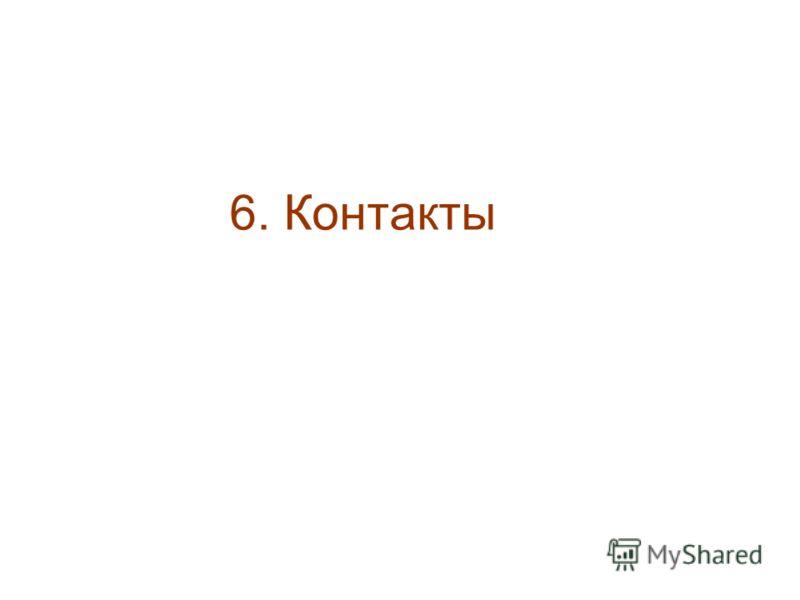 6. Контакты