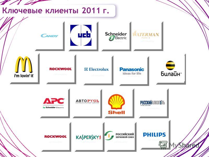 Ключевые клиенты 2011 г.