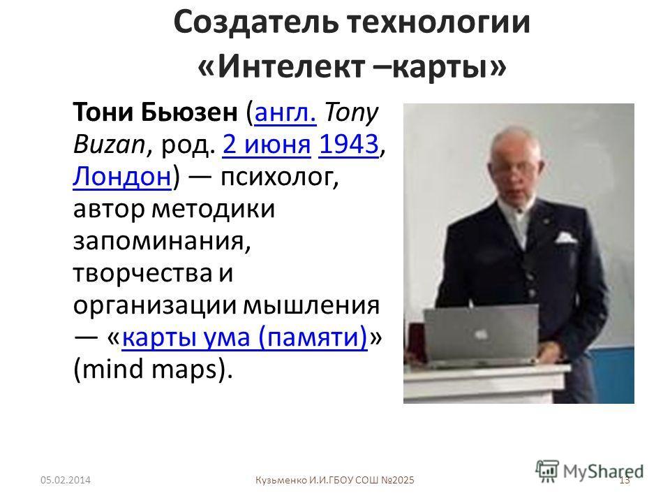 Тони Бьюзен Барри Бьюзен Интеллект-Карты Бесплатно