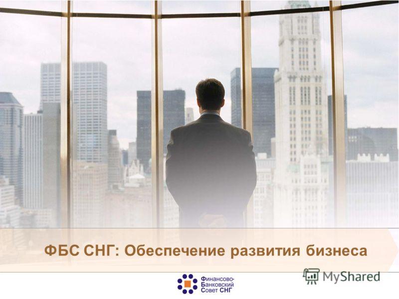 ФБС СНГ: Обеспечение развития бизнеса