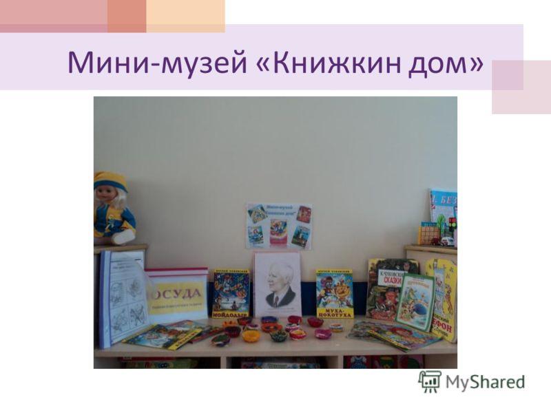 Мини - музей « Книжкин дом »