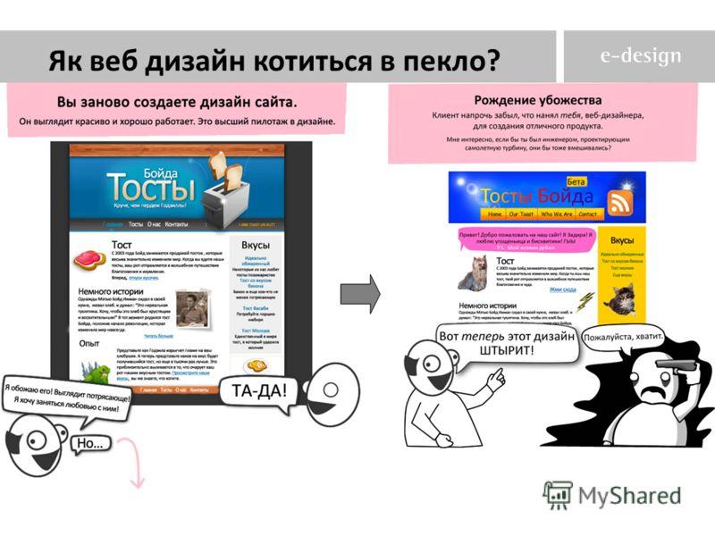 Як веб дизайн котиться в пекло?