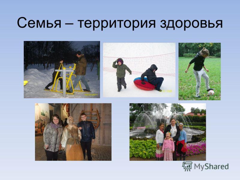 Семья – территория здоровья