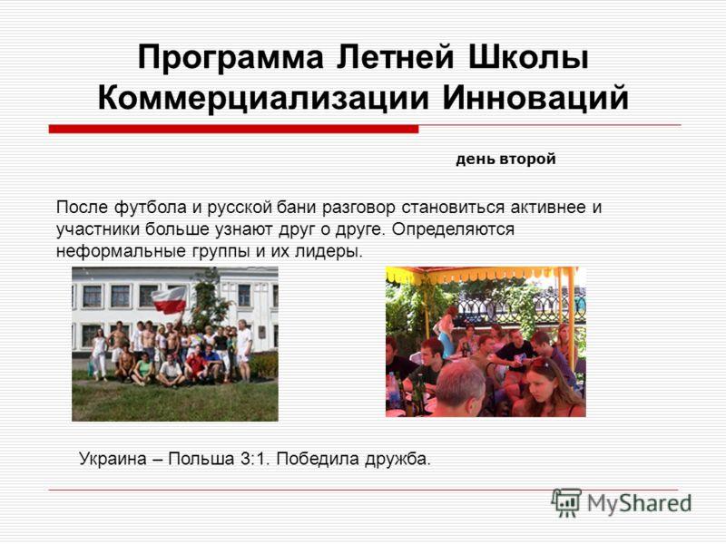 Программа Летней Школы Коммерциализации Инноваций Прибытие в Никополь зарубежных студентов и их знакомство со своими TWINS. Студенты находили своих двойников, обменивались впечатлениями о поездке в Никополь.