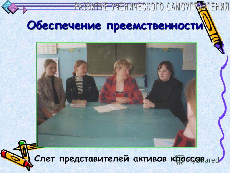 Обеспечение преемственности Общешкольные мероприятия