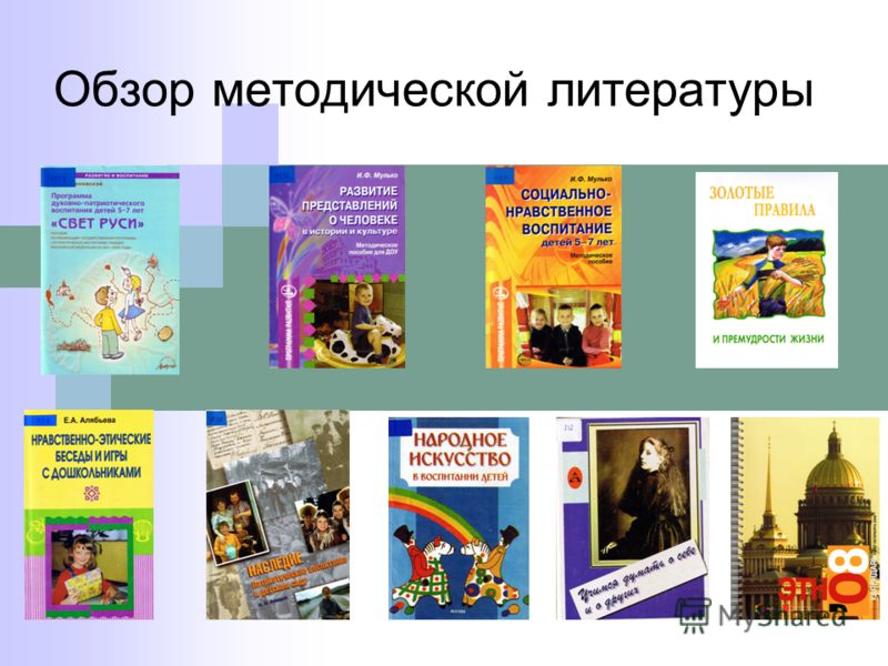 Обзор методической литературы