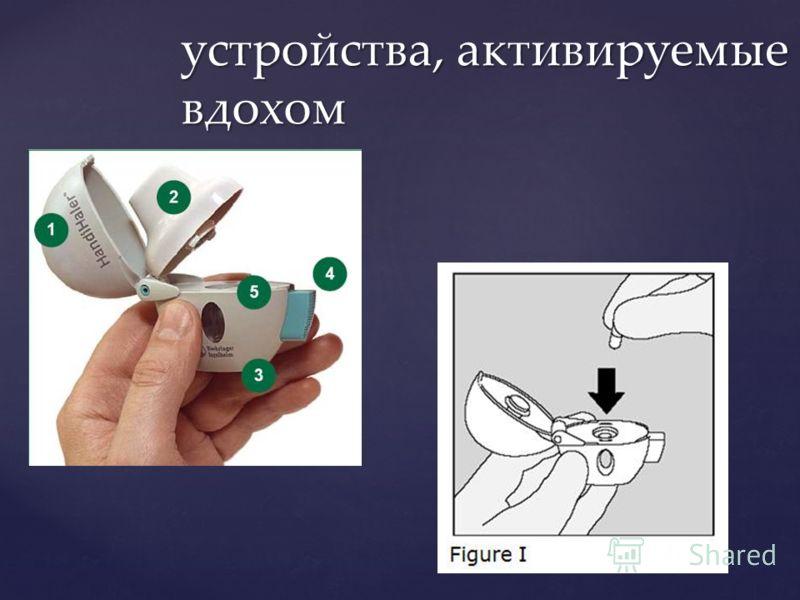 устройства, активируемые вдохом