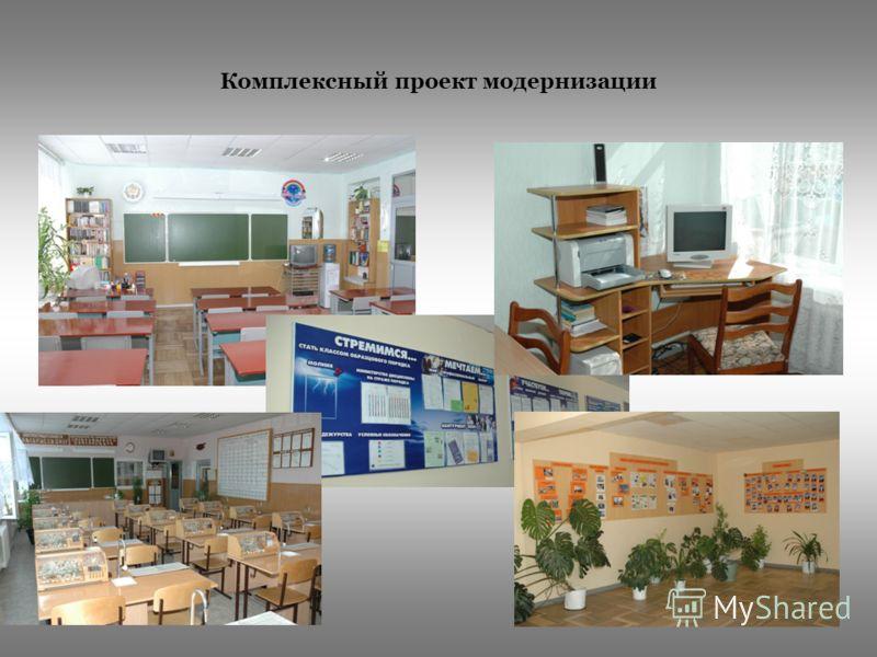 Комплексный проект модернизации