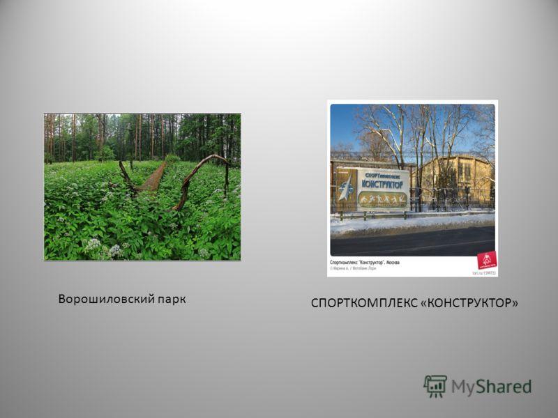 СПОРТКОМПЛЕКС «КОНСТРУКТОР» Ворошиловский парк