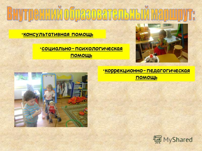 консультативная помощь социально-психологическая помощь коррекционно-педагогическая помощь