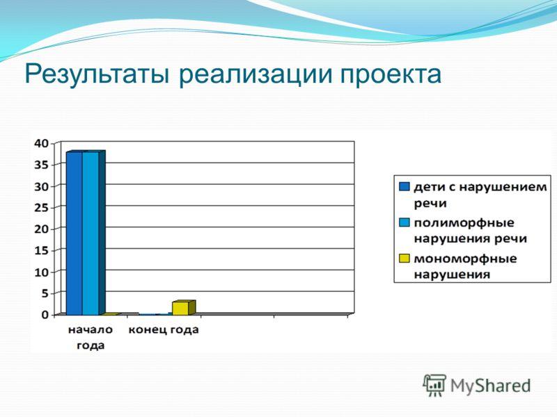 Результаты реализации проекта