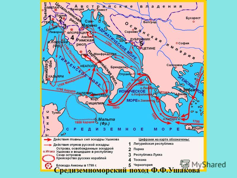 Средиземноморский поход Ф.Ф.Ушакова