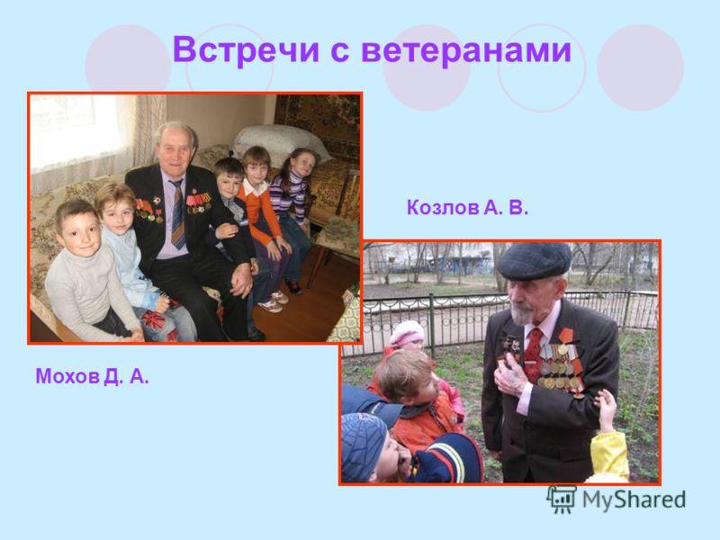 Встречи с ветеранами Мохов Д. А. Козлов А. В.