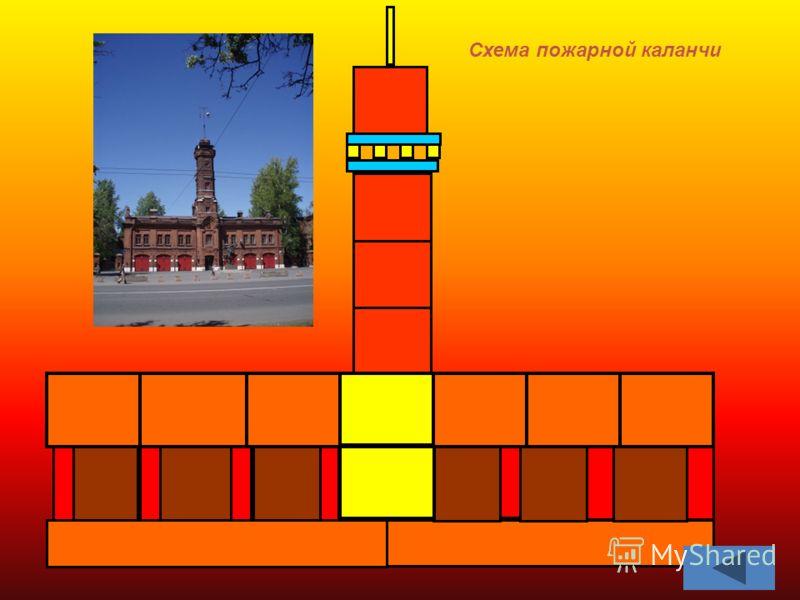 Схема пожарной каланчи