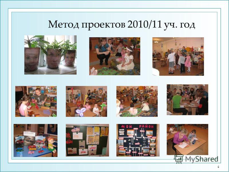 4 Метод проектов 2010/11 уч. год