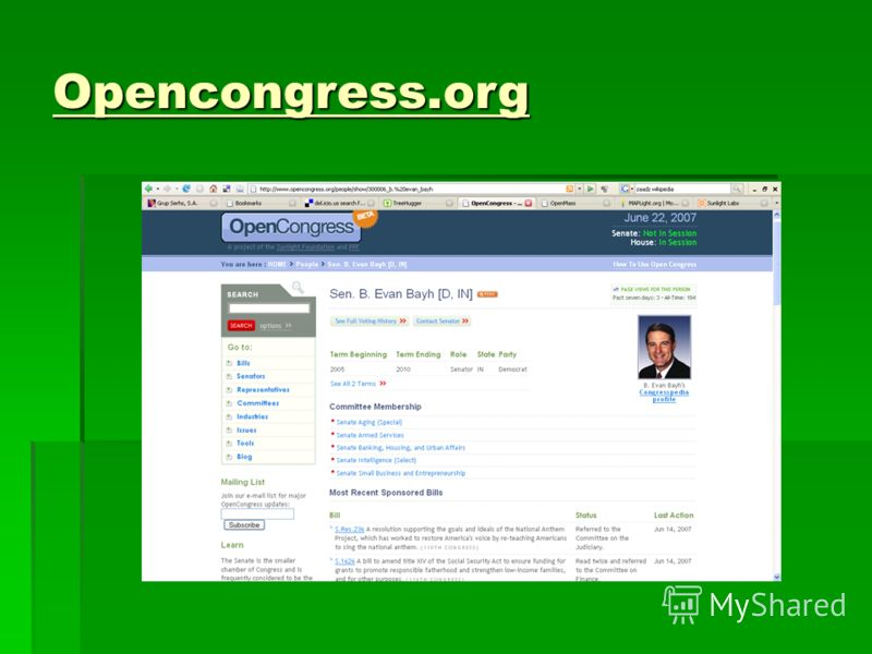 Opencongress.org