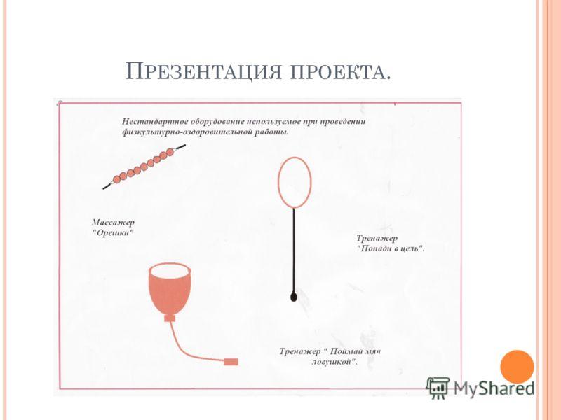П РЕЗЕНТАЦИЯ ПРОЕКТА.