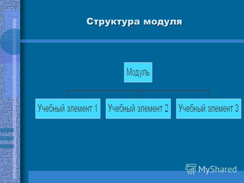 Структура модуля