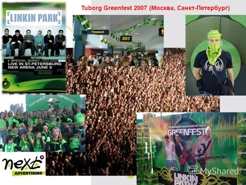 Tuborg Greenfest 2007 (Москва, Санкт-Петербург)
