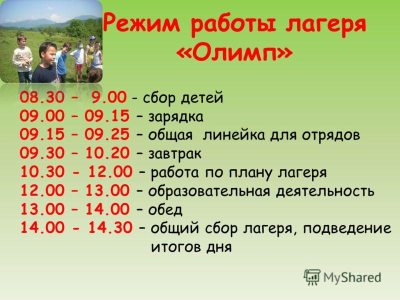 Презентация Отрядов В Лагере